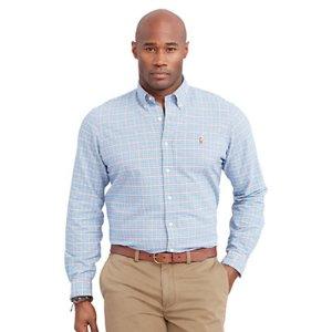 Plaid Oxford Sport Shirt - Standard Fit � Casual Shirts - RalphLauren.com