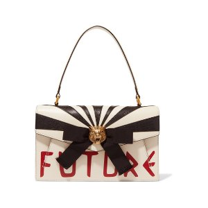 Gucci Osiride embellished leather shoulder bag
