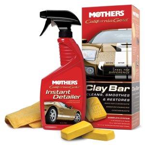 $11.89 (原价$20.99)Mothers California金土块 车漆表面清理翻新套装