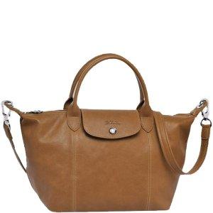 Longchamp Le Pliage Cuir Small Handbag