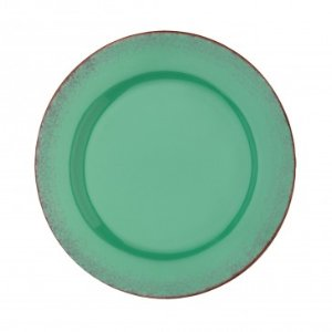 Anchor Home Citrus Turquoise Salad Plate, Set of 4, 8.75