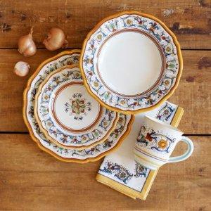 Nova Deruta 16-Piece Dinnerware Set | Sur La Table