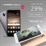 Huawei Smartphone Sales Event