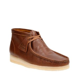 Wallabee Boot Tan Tumbled Leather - Clarks Originals - Clarks® Shoes Official Site