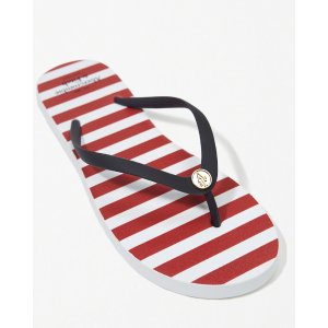 Womens Striped Rubber Flip Flop | Womens Clearance | Abercrombie.com