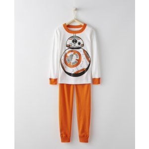 Star Wars™ Glow In The Dark Long John Pajamas In Organic Cotton