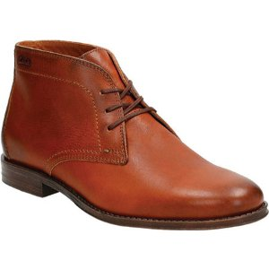 Mens Clarks Hawkley Rise Chukka - FREE Shipping & Exchanges