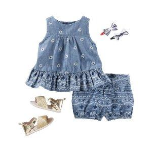 Baby Girl OKS17APRBABY22 | OshKosh.com