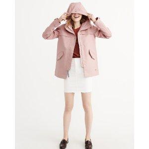 Womens Classic Raincoat
