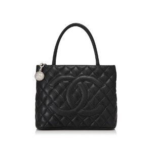Chanel Caviar Leather Shopping Tote