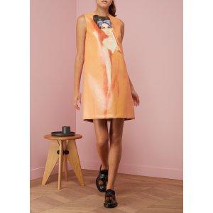 PRADA - Printed sleeveless dress