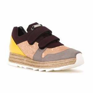 Stella McCartney Paneled Strap Sneakers - Farfetch