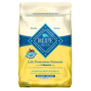 BLUE Life Protection Formula® Healthy Weight Adult Dog Food - Chicken & Brown Rice