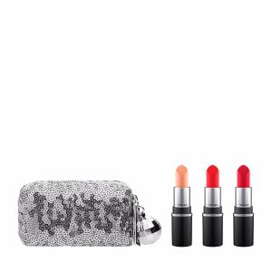 MAC Snow Ball Mini Lipstick Kit - $35.00 Value!