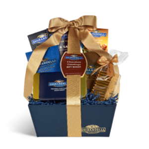 Chocolate Greetings Gift Basket | Ghirardelli