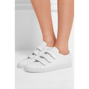 Common Projects Achilles Three Strap leather sneakers