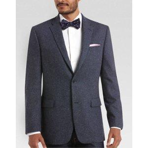 Tommy Hilfiger Blue Tweed Slim Fit Sport Coat - Men's Sport Coats   Men's Wearhouse