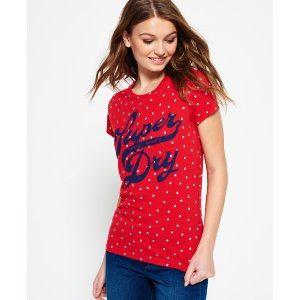 Superdry Trademark All Over Print T-shirt