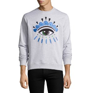 Kenzo Embroidered Eye Icon Sweatshirt
