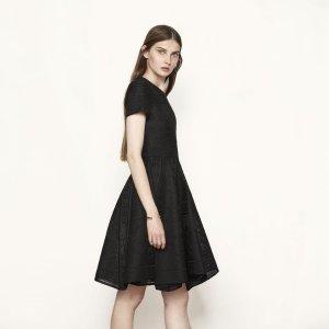 RAFAEL Bonded lace dress - Dresses - Maje.com