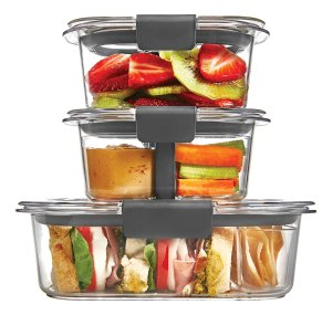 $11.69 Rubbermaid Brilliance Food Storage Container