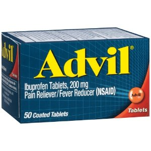 Advil Pain Reliever/Fever Reducer Tablets, 50 Ct  by Advil