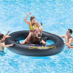 Intex Inflat-A-Bull, Inflatable Pool Toy