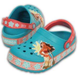 CrocsLights Moana™ 儿童闪灯洞洞鞋