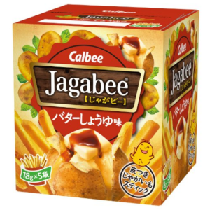 calbee jagabee potato sticks 18g x 5 bags