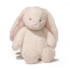 Amazon.com : Gund Baby Thistle Bunny Plush, Cream, 13