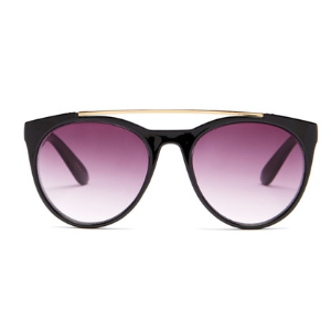 Betsey Johnson | Women's Oval With Top Bar Plastic Sunglasses | Nordstrom Rack