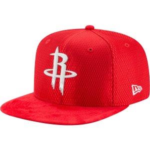 New Era Men's Houston Rockets On-Court 9Fifty Adjustable Snapback Hat