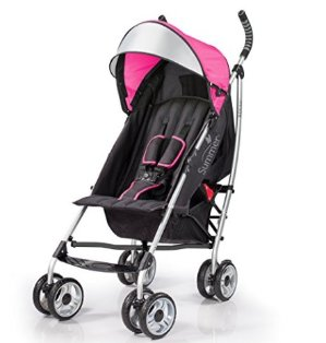 $47.5Summer Infant 3Dlite Convenience Stroller, Hibiscus Pink