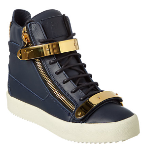 Giuseppe Zanotti Leather Wedge Sneaker