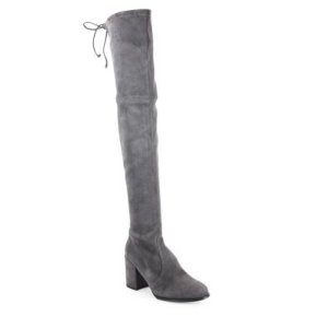 Tieland Suede Tall Boots
