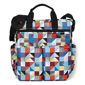 Skip Hop Duo Signature Diaper Bag in Prism Print - buybuy BABY