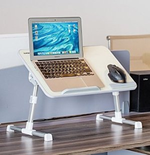$21.99Superjare 可折叠高度可调节 床上用书桌