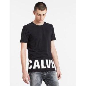 slim fit cotton stretch logo t-shirt | Calvin Klein