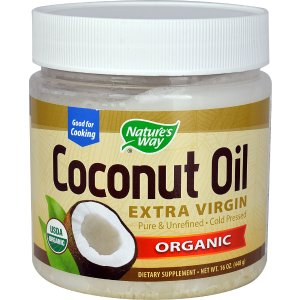 Nature's Way Organic Extra Virgin Coconut Oil -- 16 fl oz - Vitacost