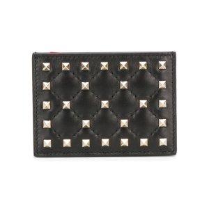 Matelassé Leather Card Holder