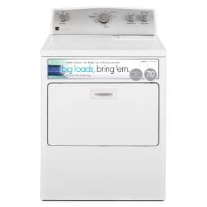Kenmore 65132 7.0 cu. ft. White Electric Dryer—Sears