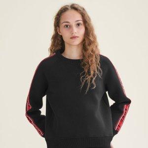 TOSKA Neoprene sweatshirt with bands