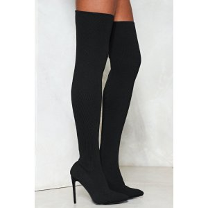 Hidden Talent Over-the-Knee Boot | Shop Clothes at Nasty Gal!