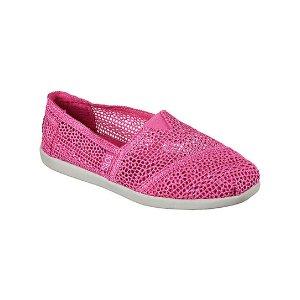 BOBS from Skechers Hot Pink BOBS World Daisy and Dot Alpargata | zulily