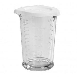 Anchor Hocking 8 oz Triple Pour Measuring Glass w/ Lid