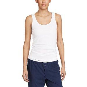 Jersey Scoopneck Tank - Sleepwear & Robes � Women - RalphLauren.com