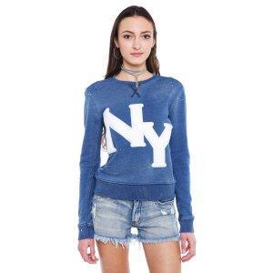 Talley NY Logo Distressed Sweatshirt   South Moon Under