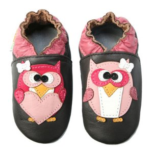 Momo Baby Pretty Owl Girls Crib Shoes-Baby - JCPenney