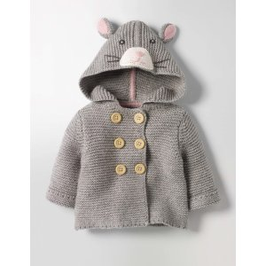 Fun Animal Knitted Jacket Y0079 Knitwear at Boden