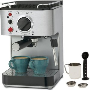 Cuisinart EM-100 15-Bar Stainless Steel Espresso Maker (Factory Refurbished)